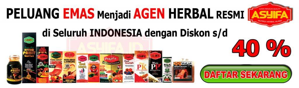 Daftar Menjadi Agen Herbal ASYIFA
