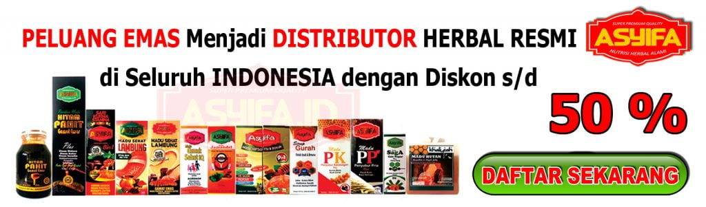 Peluang Distributor Herbal ASYIFA